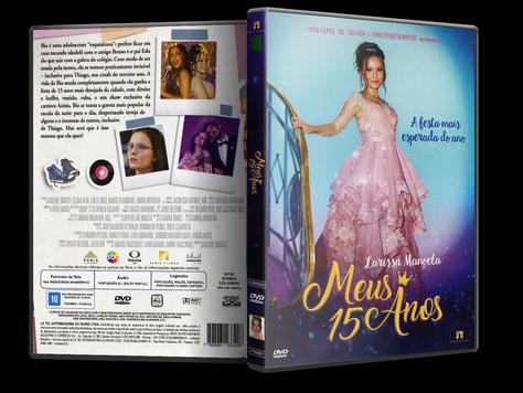 Capa DVD Meus 15 Anos