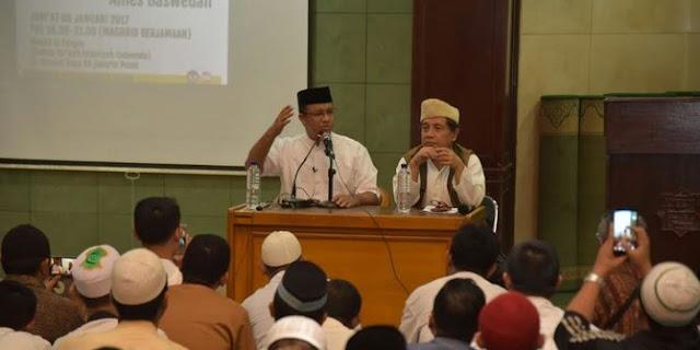 Gubernur Anies: Kalau Jakarta Tenang, Insyaallah Indonesia Tenang