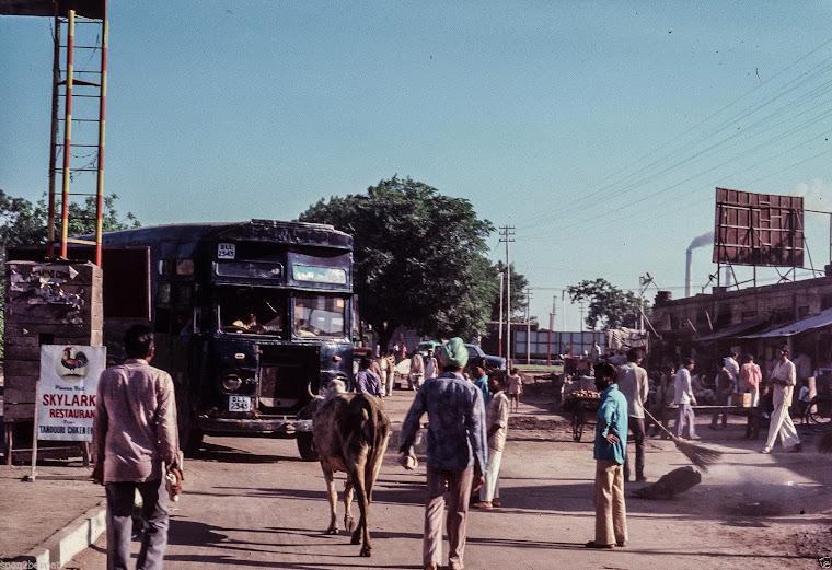 Indian Street Scenes - 1977