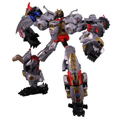 Tutti i Dinobots presenti nella linea Transformers Power of the Prime della Takara Tomy