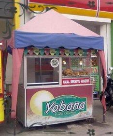 bisnis makanan ringan modal kecil Yobana Fried Chicken