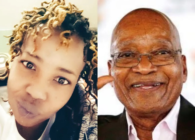 Ntsiki Mazwai and Jacob Zuma