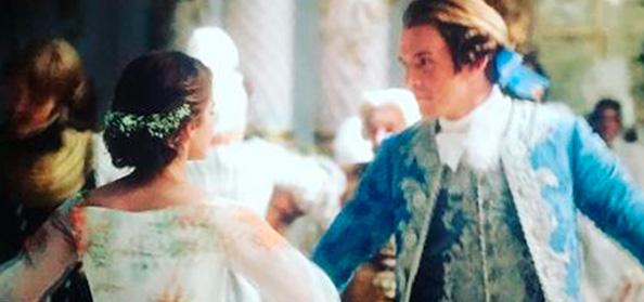 A bela e a fera casamento cena
