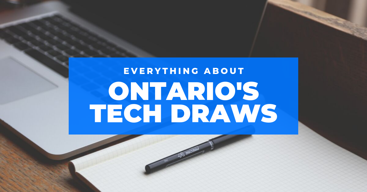 Ontario S First Tech Draw 1600 Express Entry Candidates Invited With Scores Ranging 439 459