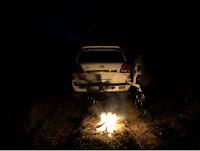 Wildcamping, Vanlife und Overlanding mit Lagerfeuer in Osteuropa