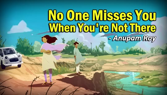 Miss Understanding by Anupam Roy English Song