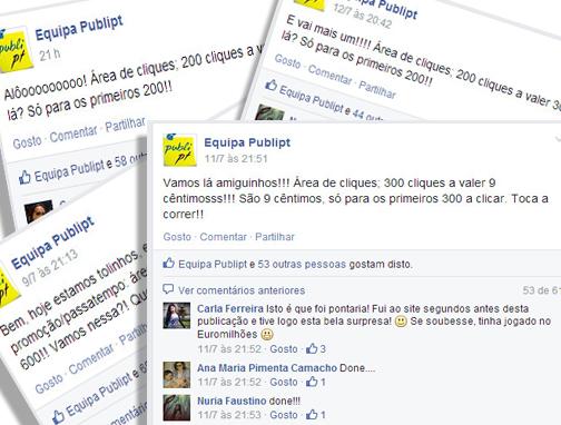 evento facebook publipt ptr dinheiro ganha ganhar