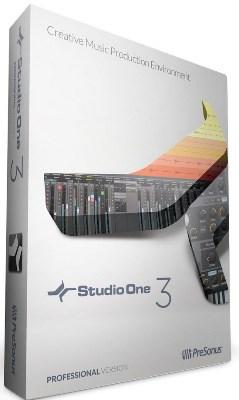 PreSonus Studio One Pro 3.3.2.40899