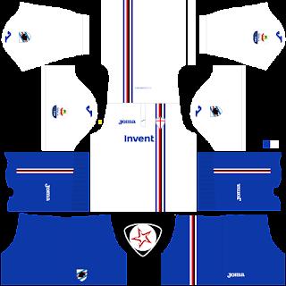UC Sampdoria 2018 - 2019 Away Kit