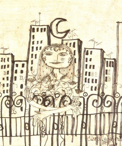 Dibujo sin titulo, 1989