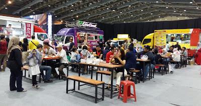 konsep food truck indoor untuk bazar