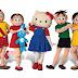 Turma da Mônica e Hello Kitty em um espetáculo musical inédito