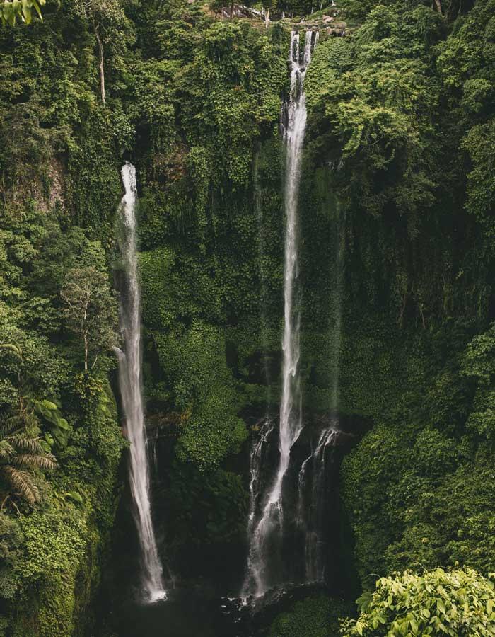 Fasilitas Wisata Sekumpul Waterfall Buleleng