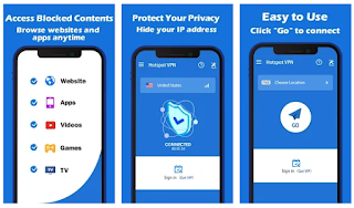 تحميل تطبيق في بي إن Hotspot VPN Free Unlimited Fast Proxy VPN 1.1.5.apk