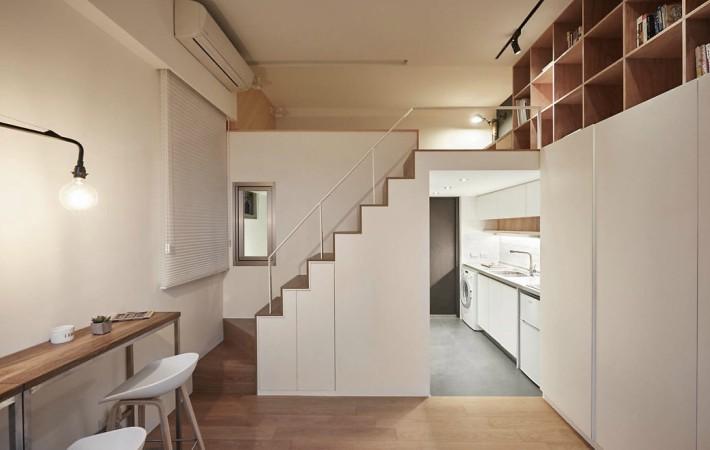 Un mini piso en China con grandes soluciones