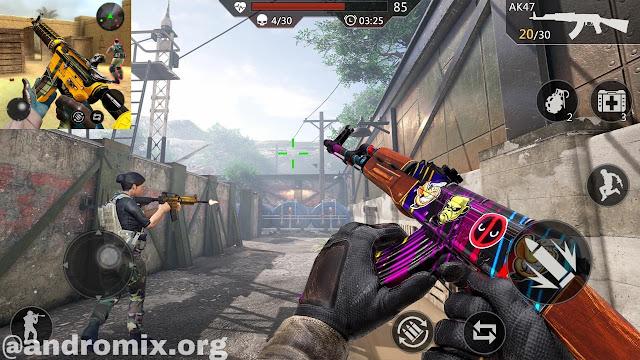 تحميل Critical Action Gun Strike للاندرويد آخر اصدار