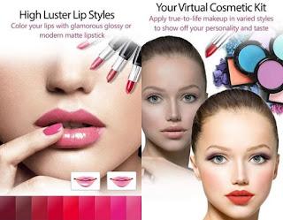 Youcam makeup aplikasi make up paling populer dan sangat digandrungi oleh para wanita cantik yang suka mode