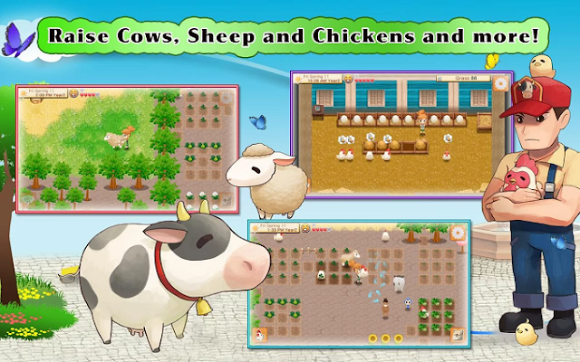 Download Harvest Moon: Seeds Of Memories APK + Data Game Android