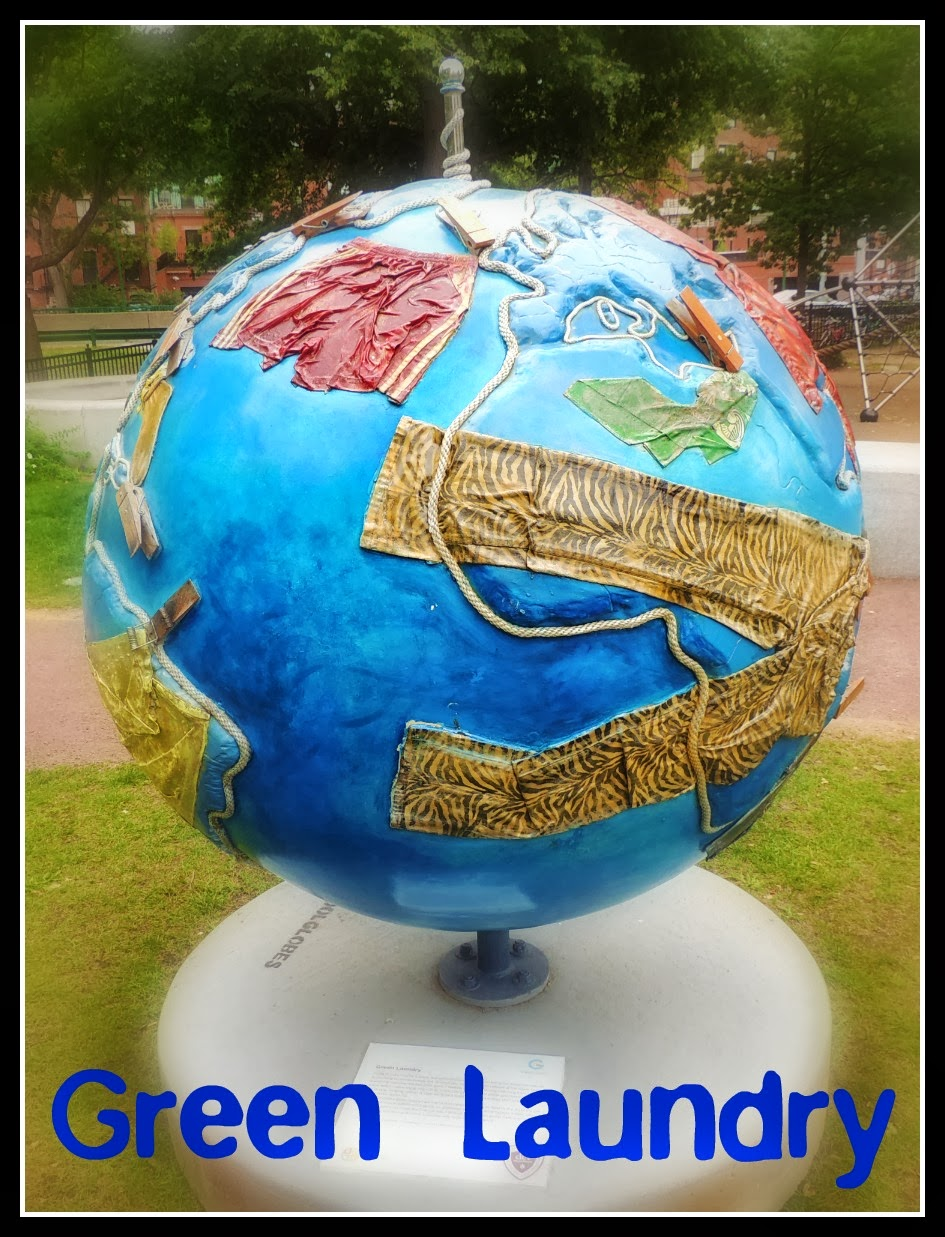 The Cool Globes en Boston: Green Laundry