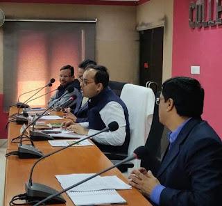 समाहरणालय सभाकक्ष में जिला अधिकारी के अध्यक्षता में इंटर एवं मैट्रिक परीक्षा के संबंध में बैठक की गई।  अमरदीप नारायण प्रसाद