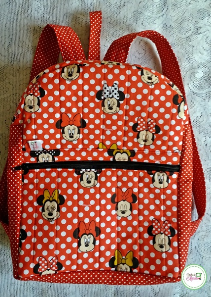 Linda e util  mochila infantil minnie para sua menina