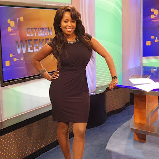 citizen TV's lilian muli