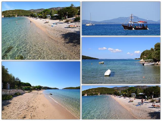 Η μαγευτική παραλία του Γαλλικού Μώλου στα Σύβοτα