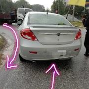 Terlibat dengan kemalangan pemandu menentang arus