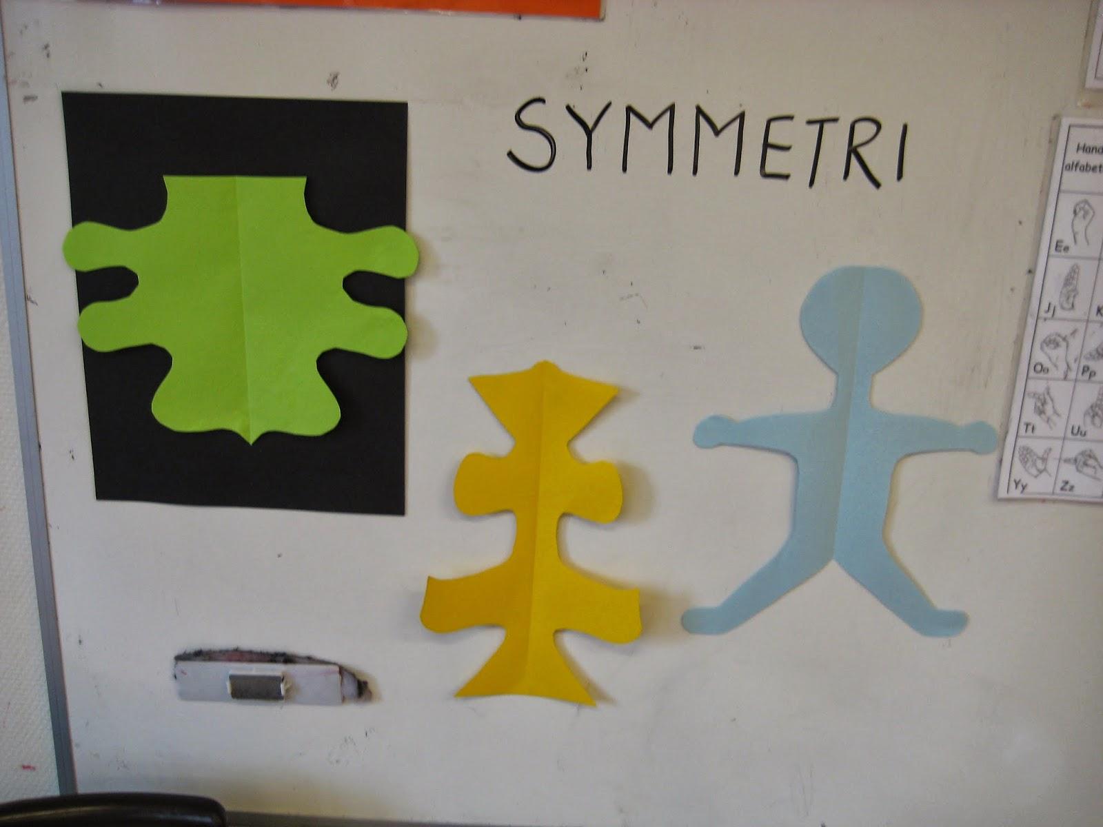 symmetri övningar för barn