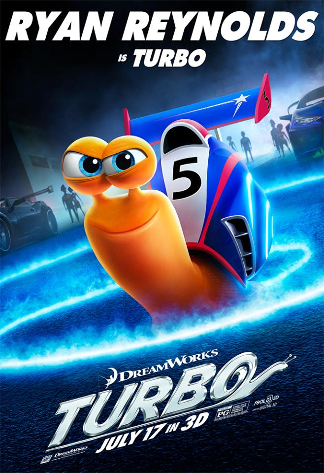 Ryan Reynolds is Turbo