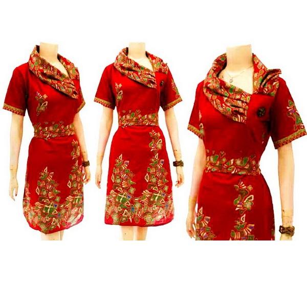 Toko Baju Batik Solo: Pre Order Dress Batik Solo KODE : DB 3138