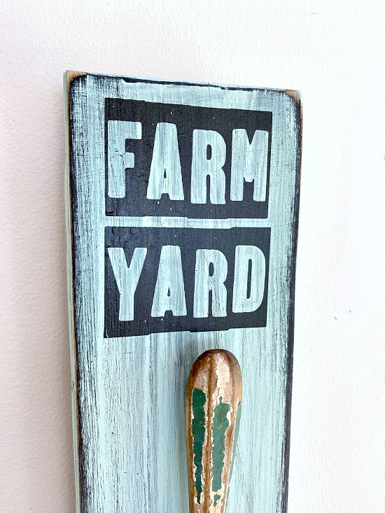 Farmhouse transfers for craft projects for the Spring