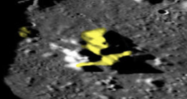 Extrañas formas en el lado oscuro de la luna, mapa lunar LROC, fotos 8
