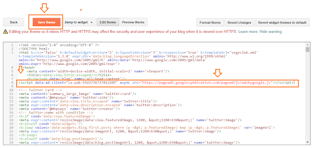 How To Display Google Ads On Blogger - Step By Step   Monetize A Blogger Blog