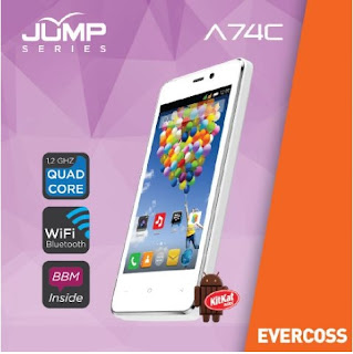 Cara Root Evercoss A74C Jump Series via Kingroot Tanpa PC