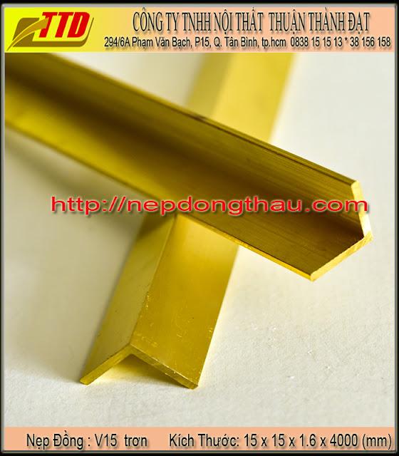 nẹp cầu thang V15 mm