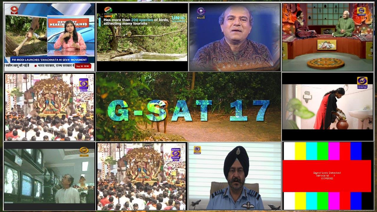 Daftar Siaran Satelit GSat 17 Terbaru di Parabola