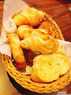 大蒜麵包、可頌