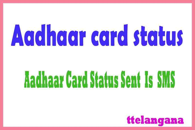 Aadhar Card Status UID Enquiry Online by Name and DOB