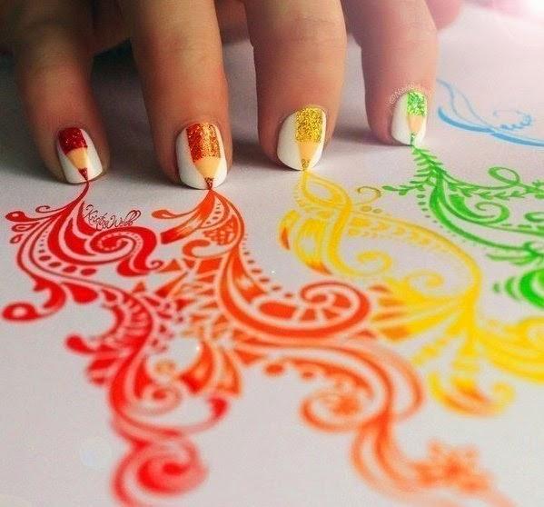 alargar, uñas, trucos caseros, manicura, belleza, estetica