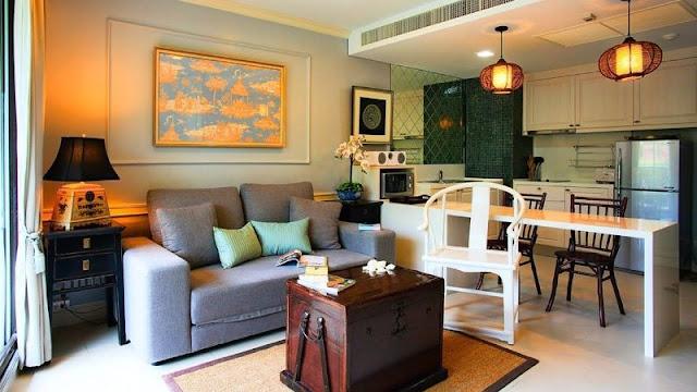 desain ruang makan, ruang keluarga dan dapur