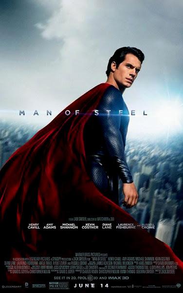 Totul Despre Filmele Noi - Man Of Steel - Poster