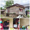 Janda Miskin di Pitumpanua Siwa Tersentuh Bantuan Dari Baznas Kabupaten Wajo