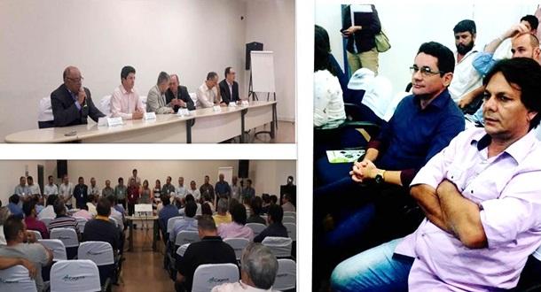Lielson Landim participa de encontro de Prefeitos eleitos realizado pela Cagece