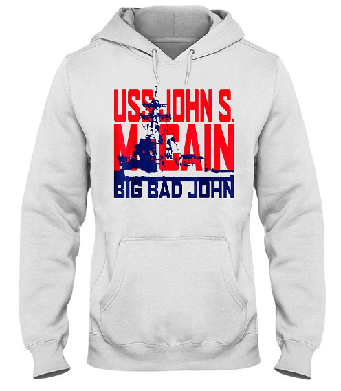 USS John S McCain Support our Vets Hoodie, USS John S McCain Support our Vets Sweatshirt, USS John S McCain Support our Vets T Shirts