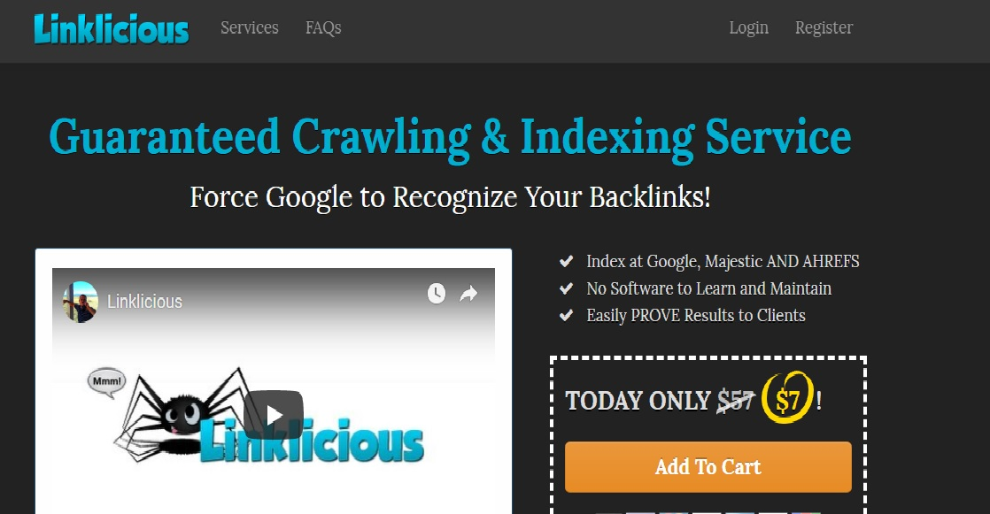 linklicious Backlink Indexing and Pinging Service - This is what you
