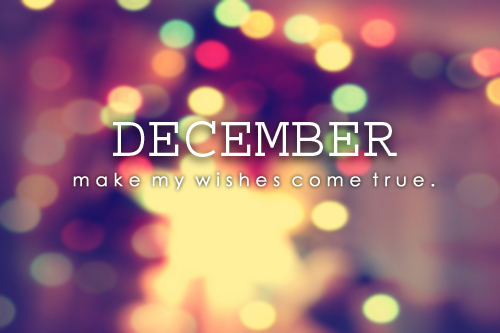 December make your wishes come true dp images