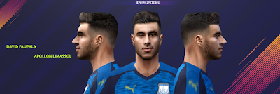 PES 6 Faces David Faupala by Gabo CR Facemaker