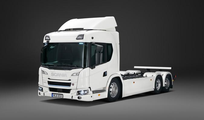 Scania apresenta caminhões 100% elétricos com autonomia para até 250 km