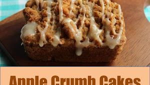 #Monday #Recipe #Apple #Crumb #Cakes